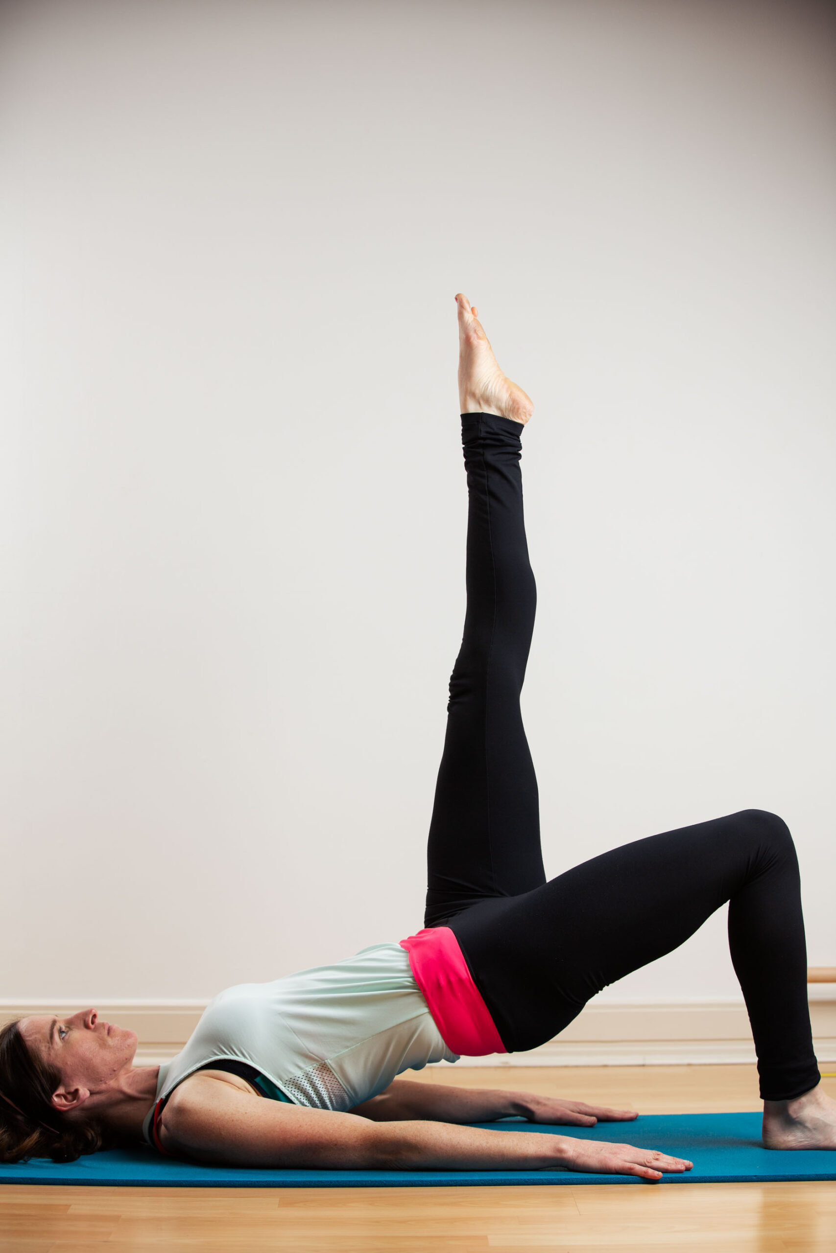 Woman Doing Pilates Photo
